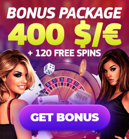 online casino bonus package