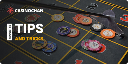 A title card for tips and tricks for winning in Roulette.