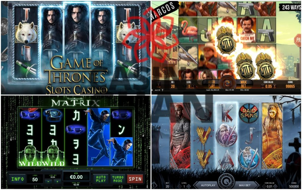 Branded slot machines that most casino slot tips & tricks would tell you to avoid.