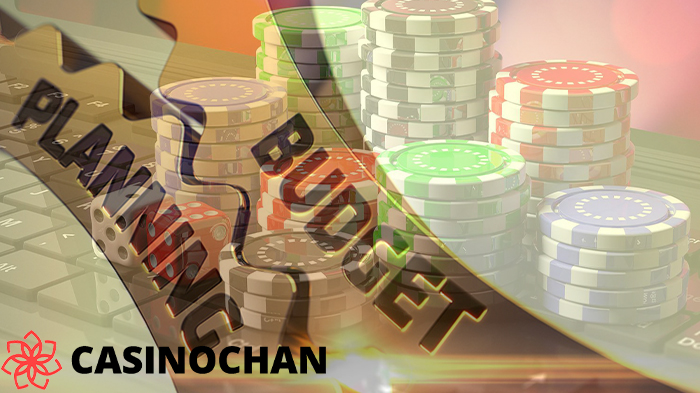Planning a budget to play in online casino for effective bankroll management.