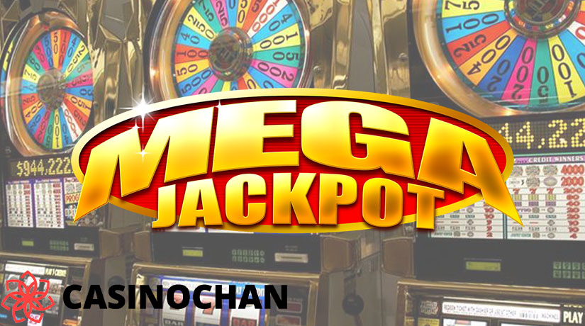 Mega jackpot in progressive slot machine