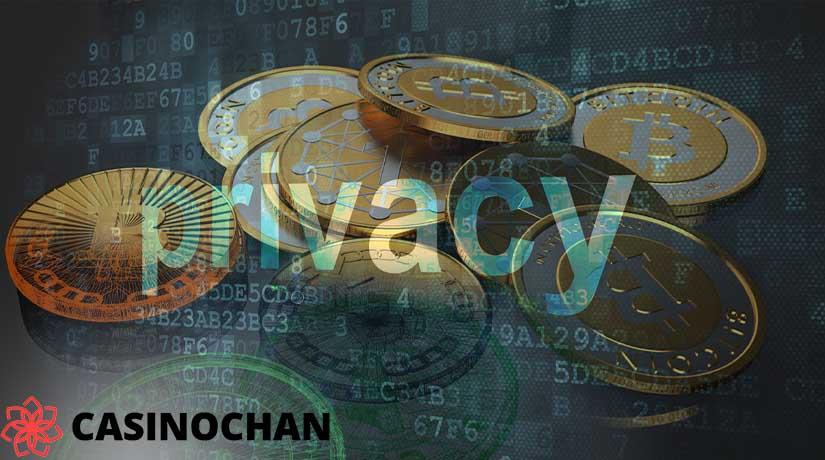 Privasi sebagai manfaat dari menggunakan bitcoin di kasino online.