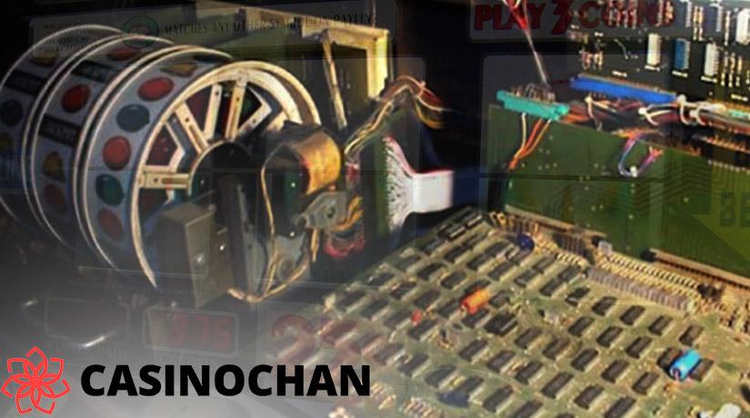 Generator angka acak di mesin slot