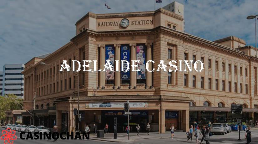 Fasad depan Kasino Adelaide