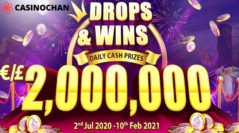 CasinoChan Mengumumkan Seri Tournament Drops & Wins € 2.000.000 dari Pragmatic Play