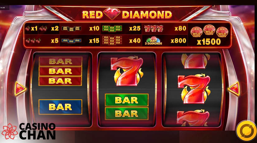 Slot Berlian Merah di Casinochan