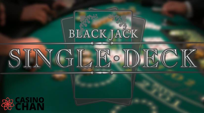Otu Single Deck Blackjack Na-arụ Ọrụ - Iwu & Ọdịiche