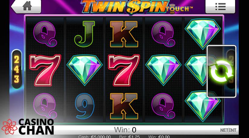 Slot Putar Kembar di Casinochan