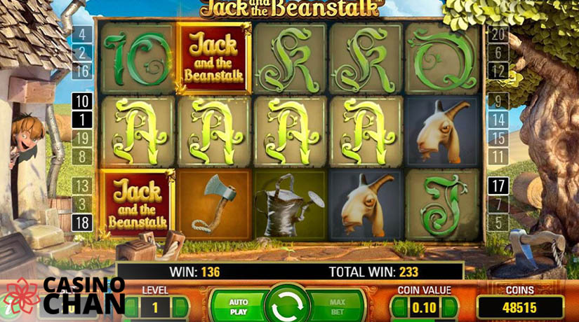 Jack dan slot 3D Pohon Kacang